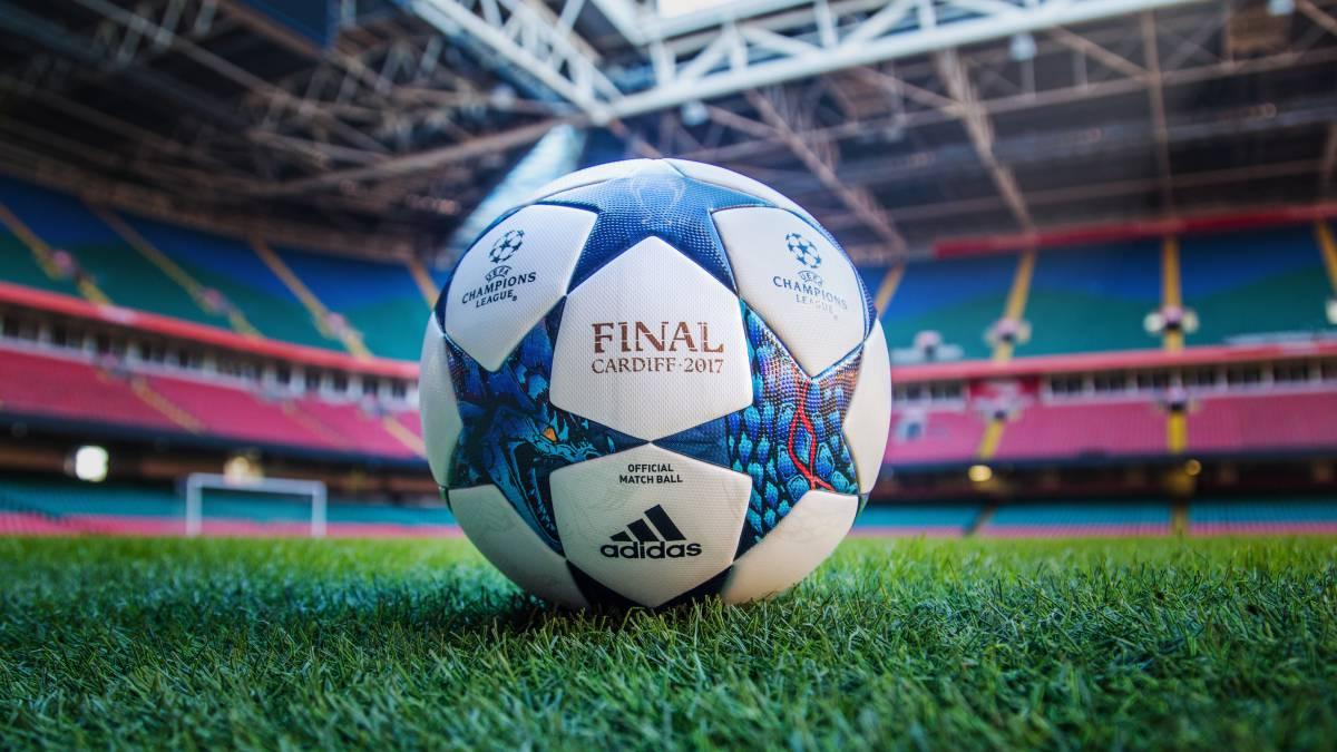 Así será el balón de la final de la Champions League 2016 2017 de Cardiff 86c2fe26f31b7