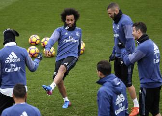 Cristiano trains as normal as Real finalise Napoli preparations