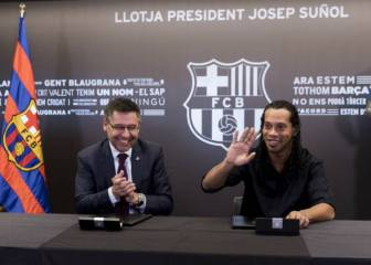 PSG or Barça? Tough call for new ambassador Ronaldinho