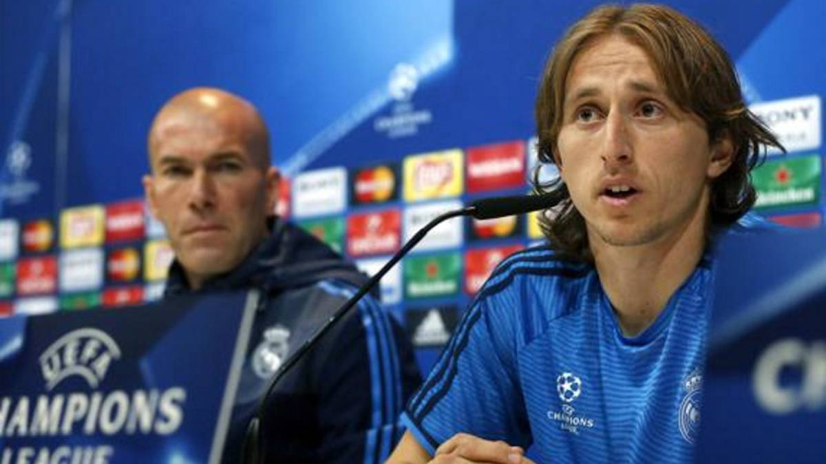Modric talks Bale and Maradona ahead of Champions League tie