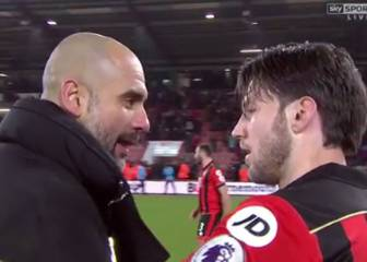 Pep's lovely gesture to Arter, who lost his daughter in 2015