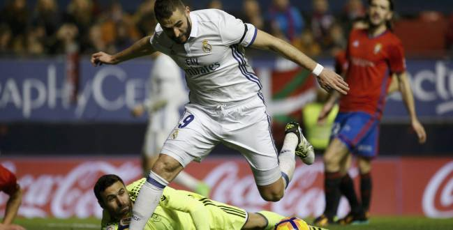 Benzema has struggled in LaLiga this season