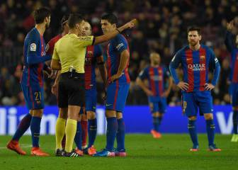 Luis Suárez to miss Copa del Rey final as card appeal fails