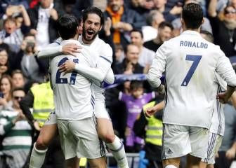 Real Madrid: 42 consecutive games finding the net