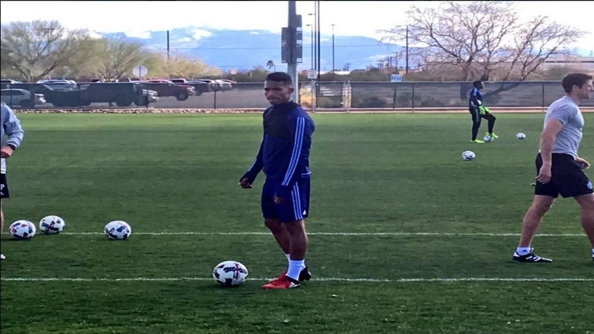El venezolano Yangel Herrera ya se entrena con el New York City - AS.com