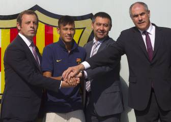 Barcelona, Neymar and Santos to stand trial after losing appeals