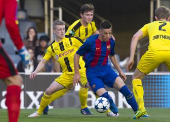 El Barça remonta para meterse en cuartos de la Youth League