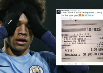Sané says sorry after goal costs bettor 34,200 euros in winnings