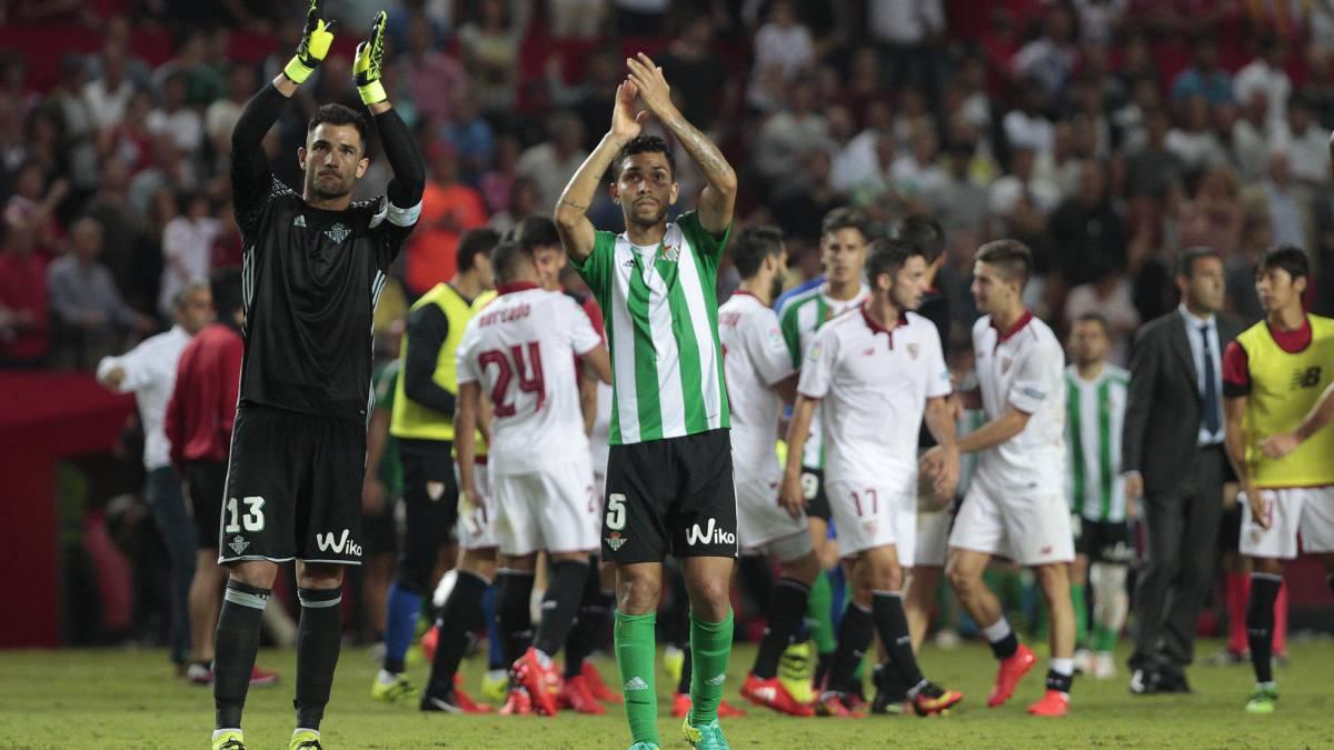 Conoce el horario, cómo y dónde ver en directo en TV y online el derbi sevillano Betis vs Sevilla de la jornada 24 de LaLiga Santander.