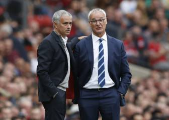 Mourinho pays tribute to sacked Leicester manager Ranieri