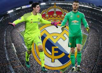 El Real Madrid debate si fichar a Courtois o a De Gea
