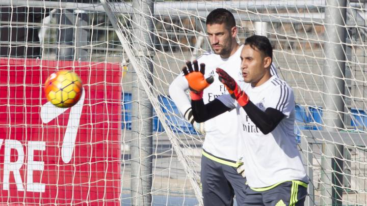 Zidane sale en defensa de Keylor: \