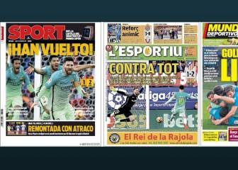 Catalan press indignant after refereeing decisions in Vila-real