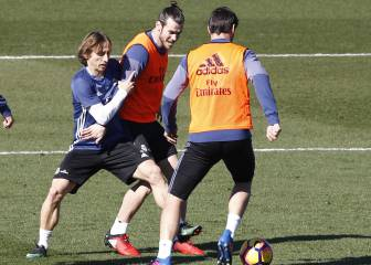 Bale, fully fit for Las Palmas; Danilo back with the group