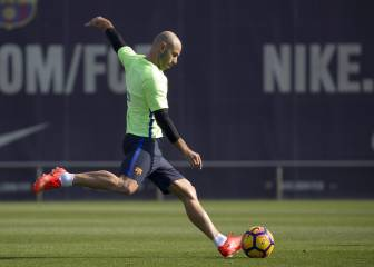 Mascherano in Barça squad, Arda and Mathieu miss out