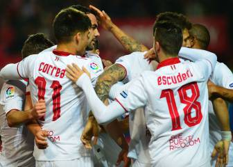 Sevilla tighten the title trio as Athletic fail again on the road