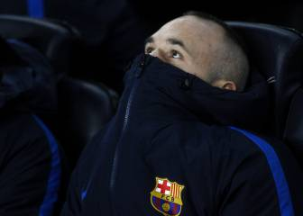 55 days without a full game: What is wrong with Andres Iniesta?