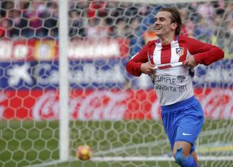 Griezmann marks 100th LaLiga game for Atlético with brace