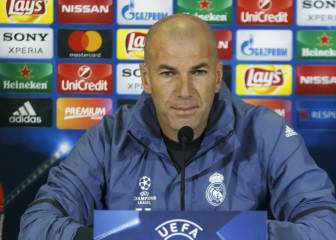 There'll be no let-up from Real Madrid, Zidane warns Napoli