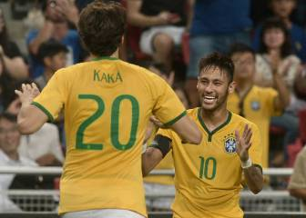 Neymar should think about changing his name, jokes Kaká