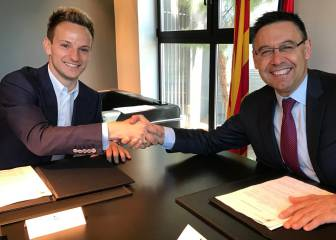 Rakitic firma hasta 2021: