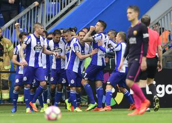 Bergantiños has the final word against Barça at Riazor