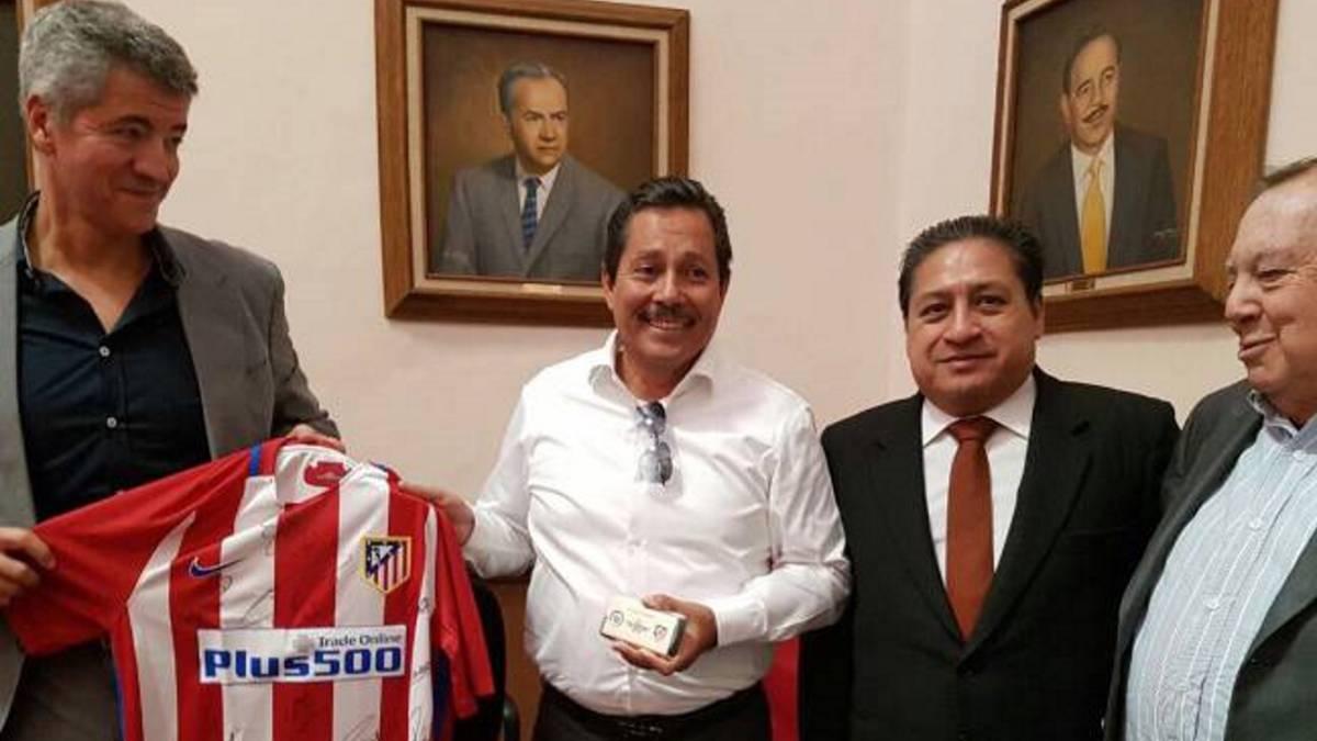 Confirma Atlético de Madrid acuerdo de franquicia en México