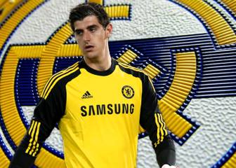 Courtois remains coy on any potential move to Madrid