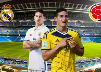 James admits that he plays with greater freedom with Colombia