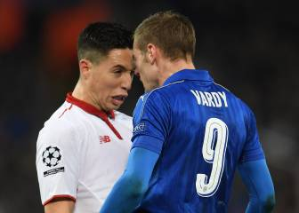 Samir Nasri accuses Vardy of being a