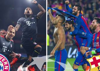 Barça and Bayern bookies' Champions League favourites