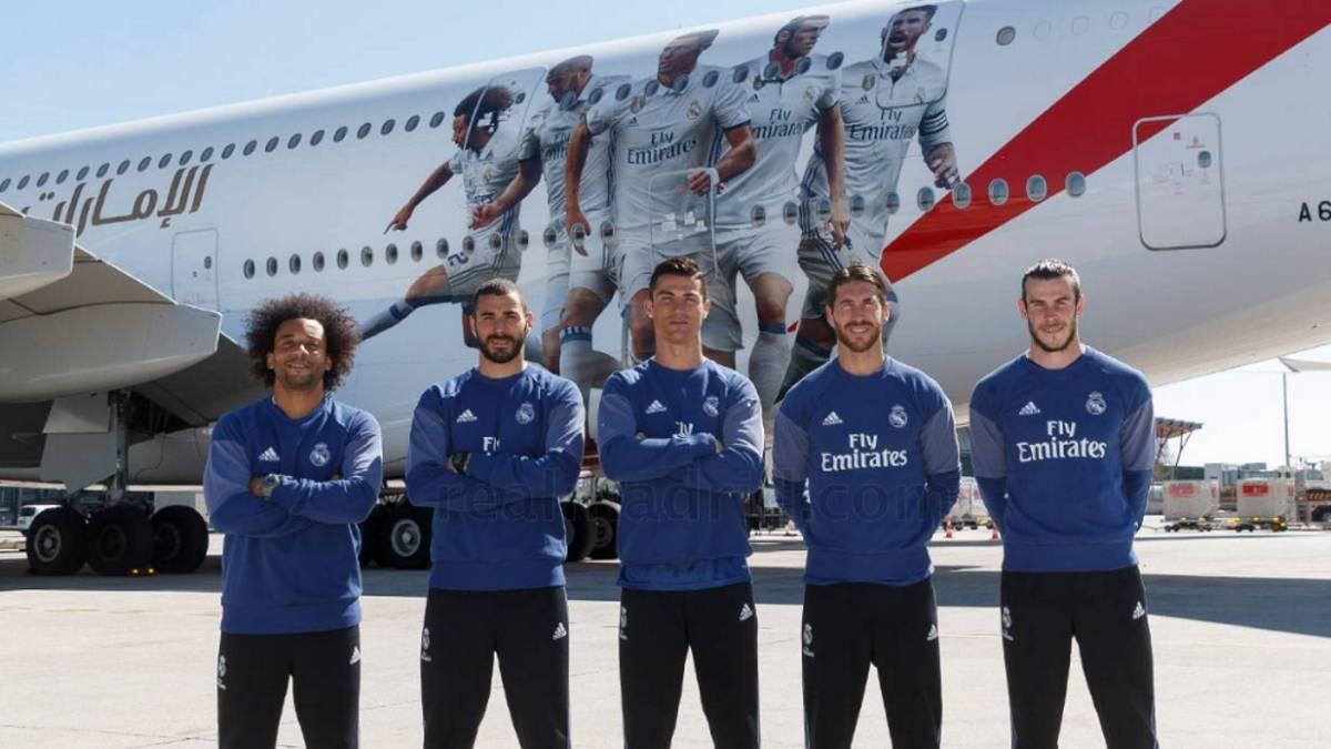 Así es el nuevo y lujoso avión del Real Madrid