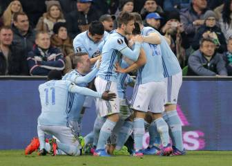 Celta Vigo march on into Europa League quarter-finals
