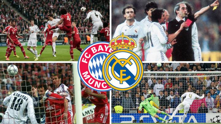 Bayern-Real Madrid.