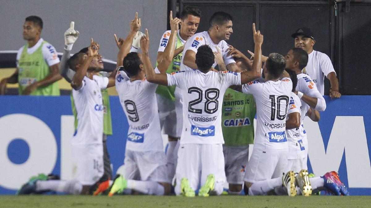 Ricardo Oliveira y Renato le dan la victoria al Santos