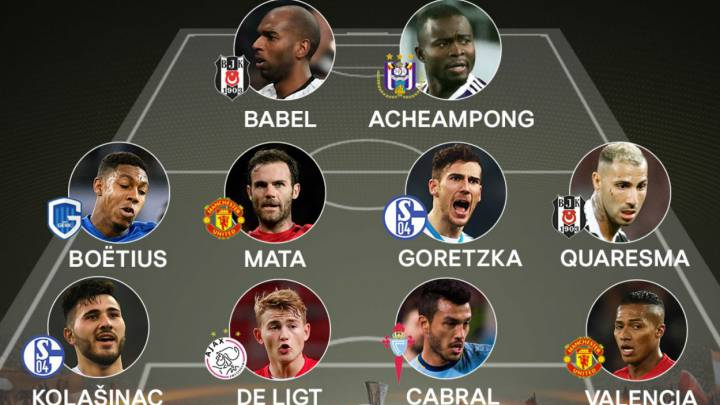 Once ideal de la semana en la Europa League