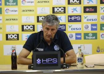 Quique Setién to step down as Las Palmas boss in May