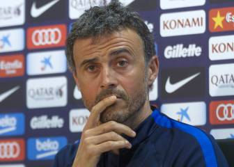 "Unzué gets Luis Enrique's blessing: ""I'll never be angry with him"""