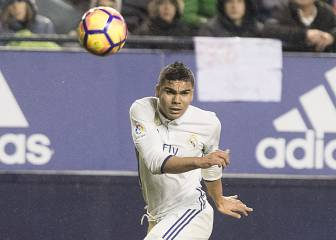 Casemiro to miss Alavés game after San Mamés yellow