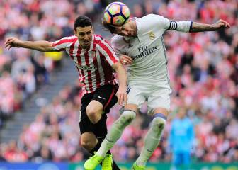 Sergio Ramos played in Bilbao just 48 hours after hospital visit