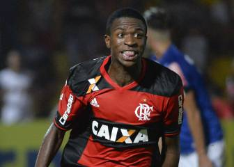 Barcelona close in on Brazilian sensation Vinicius Júnior