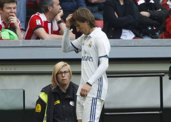 Modric's physical condition a concern for Zidane