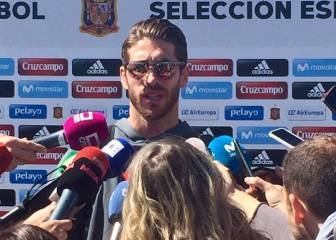 Ramos: I will hug Piqué, we throw stones without malice