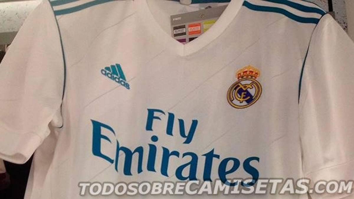 Filtran imagen real de la posible camiseta del Madrid en la 2017 18 ... 1cf87ffffa211
