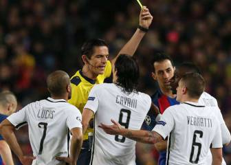 UEFA say ref for Barça - PSG game will not be suspended