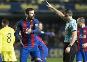 Piqué landed with a €3000 fine for criticism of referees