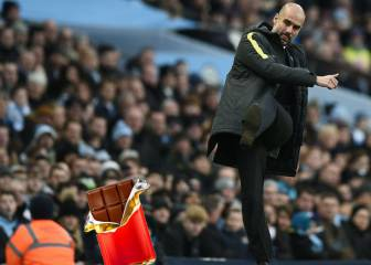 Pep prohíbe vender chocolate en el campo del Manchester City