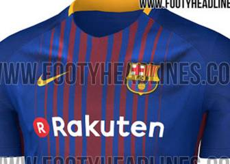 Images of possible 2017/18 Barcelona home shirt leaked