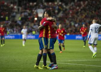 In Pictures: Spain - Israel