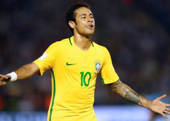 Neymar and Paulinho see Brazil past Suárez-less Uruguay